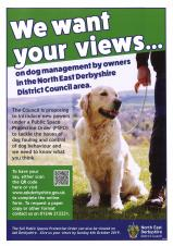 North East Derbyshire District Council (Dog Management) Public Spaces Protection Order No.1 of 2019
