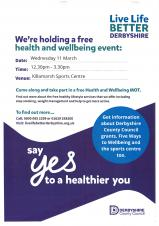 Health & Wellbeing Event